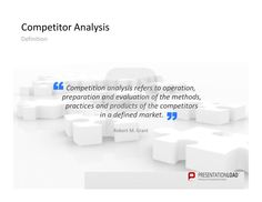 Competitor Analysis PowerPoint Templates Use quotes to provide your audience with some inspiration. #presentationload http://www.presentationload.com/competitor-analysis.html
