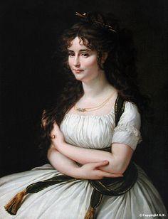 Madame Pasteur - Antoine-Jean Gros