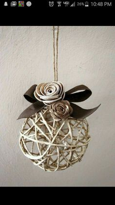 25 diy christmas ideas you must try in 2015 crafts pinterest balloon and string ornaments solutioingenieria Images