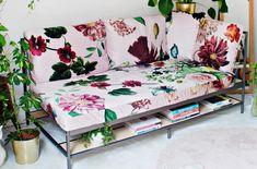 18 jeitos modernos de usar a estampa floral na decoração | MdeMulher
