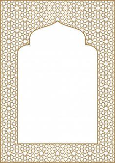 Islamic Art Pattern, Arabic Pattern, Pattern Art, Vector Pattern, Border Pattern, Frame Border Design, Page Borders Design, Poster Background Design, Background Patterns