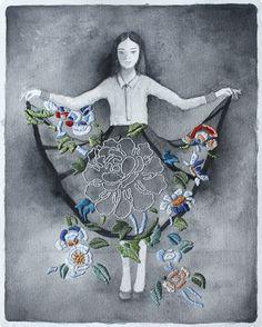 Рукодельные картины и обложка Izziyana Suhaimi (подборка) / Вышивка / Своими руками - выкройки, переделка одежды, декор интерьера своими руками - от ВТОРАЯ УЛИЦА