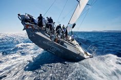 What a great image.  Check out winning #minimaxi #Robertissima's fantastic sailing footage created by #BorlenghiStudios by following this YouTube link.  https://www.youtube.com/watch?v=ezZ4lQkhgvo    www.vcmetalwork.com #MetalFabrication