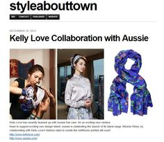Style About Town - Kelly Love & Aussie Press