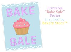 Bake Sale Poster Inspired by Bakery Story | Bake Sale Flyers – Free Flyer Designs
