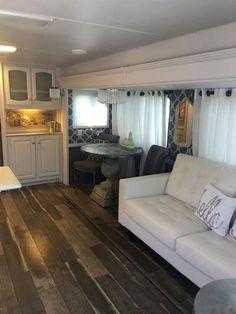Easy rv travel trailers camper remodel ideas on a budget (9)  #RemodelingIdeasonaBudget