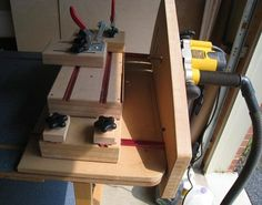 Handy dandy depth gage for router table and table saw use self slot mortising setup and router table greentooth Gallery
