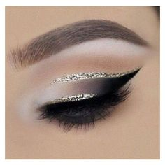 If you put even a little glittery eyeliner on eyes you will get glamorous and more festive look very fast. Sometimes the little thing is enough that someone lo…