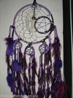 Dreamcatcher Kit 8, includes rings,feathers,sinew,beads,instructions,DIY Kit