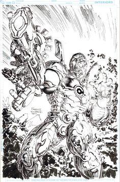 #Cyborg #Fan #Art. (Cyborg) By: FreddieEWilliamsii. ÅWESOMENESS!!!