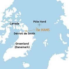 Revendiquer l'île Hans pour qu'elle appartienne à tous