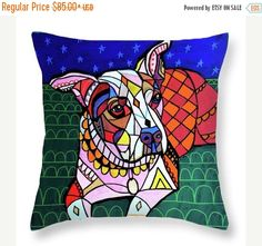 38% Off Today- Beatrice Art Pillow - - by Heather Galler (HG7999)