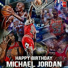MJ you just turned 52 but, you will always be 23 Happy B Day 2 the GOAT Michael Jordan I Love Basketball, Basketball Players, Wizards Basketball, Michael Jordan Photos, Phil Jackson, Happy B Day, Cycling Art, Great Team, Chicago Bulls