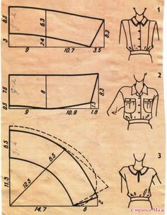 Galina_O - galkaorlo Sewing Lessons, Sewing Hacks, Sewing Tutorials, Techniques Couture, Sewing Techniques, Pattern Cutting, Pattern Making, Dress Sewing Patterns, Clothing Patterns