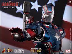 Iron Patriot Diecast Movie Figure