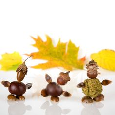 11 Fall decorating ideas for kids.The fruits of autumn can decor your home, in the form of figurines. Invite your kids to go out, where you will collect material for their new toys. Living Room Decor On A Budget, Diy Room Decor, Home Decor, Diy Crafts For Kids, Home Crafts, Rustic Design, New Toys, Decor Styles, Home And Garden
