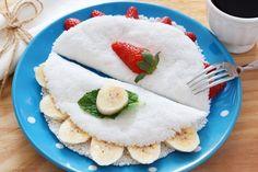 tapioca de banana e tapioca de morango, guia da tapioca