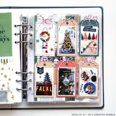 Christmas Journal, Christmas Scrapbook, 1st Christmas, Happy December, December Daily, Scrapbook Page Layouts, Scrapbooking, Crate Paper, Mini Books