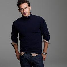 J. Crew Cashmere turtleneck sweater