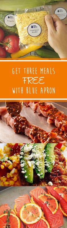 Claim Your 3 Free BlueApron Meals Today!