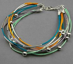 Cotton wax cord- cool bracelets In this project, a splendid idea about bracelets for teenage guys has been prepared for most of our crafters, even beginners. Simple to do and currently popular stack pattern out of cotton wax cord! Leather Cord Bracelets, Leather Jewelry, Beaded Jewelry, Handmade Jewelry, Beaded Bracelets, Jewellery, Amber Jewelry, Bracelets For Boyfriend, Bracelets For Men