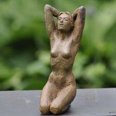 Kunst - brons beeld - Charles Henri - Irma