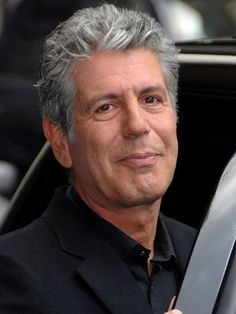 Anthony Bourdain, b. 1956 in New York City, and grew up in Leonia, New Jersey. American chef, author, TV personality