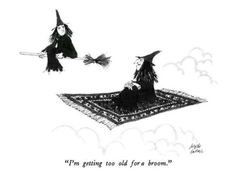 I'm Getting Too Old For A Broom