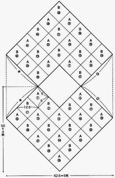 poncho em croche adultos graficos quadrados - Pesquisa Google