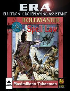 Electronic Roleplaying Assistant (ERA) for Rolemaster Fantasy Roleplaying game (RMFRP) - Spell Law