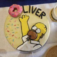 Homer Simpson Cake / Simpsons Cake / Oliver Birthday