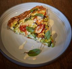 Quiche mit irischem Räucherlachs, Wirsing und Brokkoli - als Vorspeise oder leichtes Abendbrot sehr zu empfehlen
