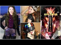 New Year's Eve Flirty Outfits + Glittery Eyes! - StilaBabe09