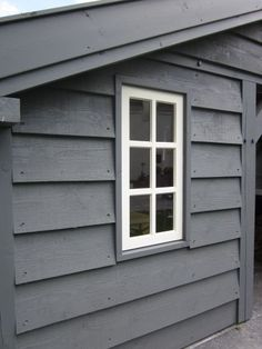 Wood Cladding Exterior, House Cladding, Garden Huts, Garden Cabins, Scottish Cottages, Grey Houses, Storage Shed Plans, Garden Buildings, Dream House Exterior