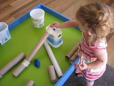 Play Dough & Cardboard Tubes3