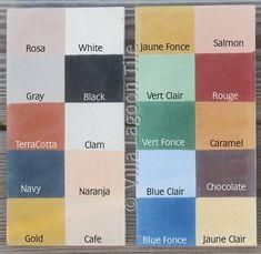 Villa Lagoon Tile  encaustic cement tiles  Cement Tile Colors-Monterey