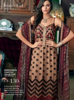 Gul-Ahmed-Chantilly-De-Chiffon-Embroidered-Festive-Eid-Collection-2015-For-Girls-1