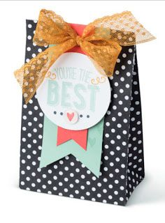 Stampin' Up! Friendly Wishes Sneak Peek Sample + Triple Banner Punch, Gift Bag Punch Board & New In Colors