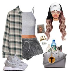 """""""Trying a new format style!"""" by b-unnny ❤ liked on Polyvore featuring Glamorous, Band of Outsiders, Olivia Burton, Givenchy, October's Very Own, ASOS and Fendi"""