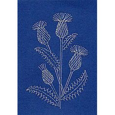 Form-A-Lines Stitching Cards Thistle