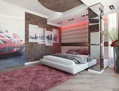 Stilvolle Schlafzimmer Design Für Paare, Die Romantisch Fühlen Würde