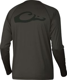 L/S Performance UPF-50 Sun T-Shirt | Drake Waterfowl- Olive Burst  http://www.dixiepickersstore.com/Home