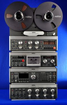 Revox - B77 REEL-REEL w/3-Head Cassette, Tuner and Integrated Amp. Sadly going digital came at a great cost.