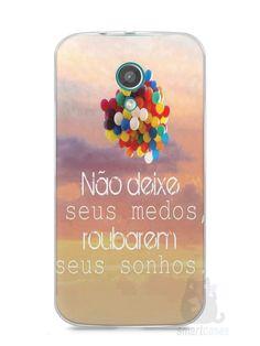 Capa Moto G2 Frase #3 - SmartCases - Acessórios para celulares e tablets :)