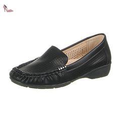Ital-Design , Low-top femme - Noir - Noir, 39 - Chaussures ital design (*Partner-Link)
