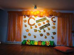 c vitamini şenliği Thursday, Stage, Decor, Decoration, Decorating, Deco