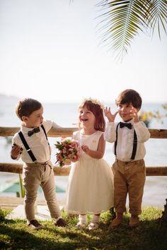 Casamento na praia de Luiza e Alexandre