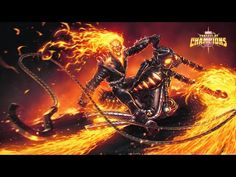 Marvel Contest Of Champions Ghost Rider Spotlight - Video --> http://www.comics2film.com/marvel-contest-of-champions-ghost-rider-spotlight/  #Marvel