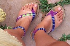 Bahama sandals - do it yourself e-book and patterns.