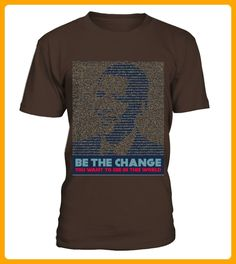 Barack Obama Tshirt Be The Change - Barca shirts (*Partner-Link)